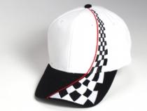 4d11c70412875 Gorra de algodón peinado con refuerzo y bordado tipo Racing.