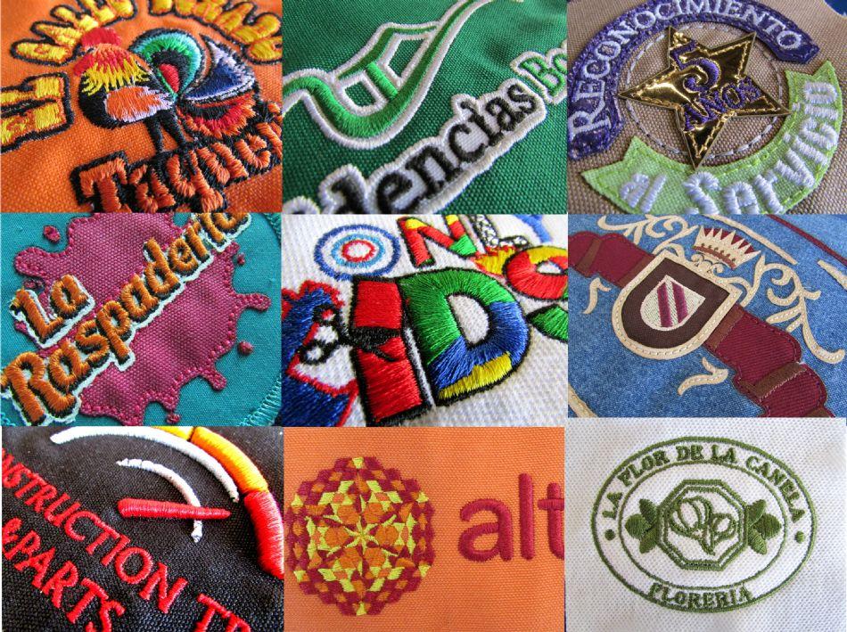Servicio de bordado en textiles, directo en prenda, a todo color, con costura perfecta y alineada, alta calidad garantizada.